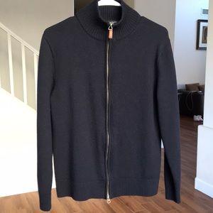 J.Crew full zip sweater